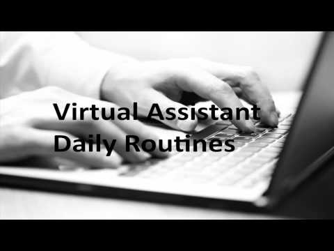 Virtual Assistant Daily Routine