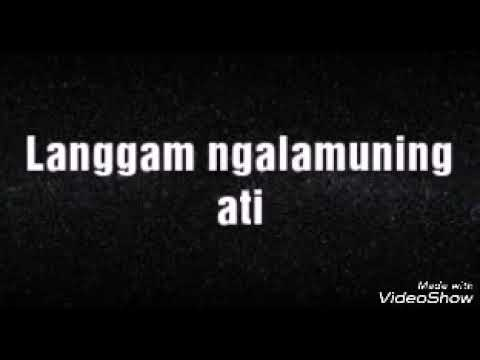 Lirik Lagu NGALAMUNING ATI Sragenan Karawitan Campursari - AnekaNews.net