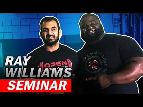 Ray Williams Squat Tips (Powerlifting Seminar)