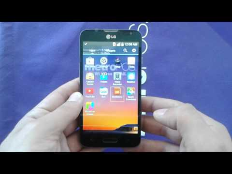 LG L70 how to Turn off the talkback or voice over