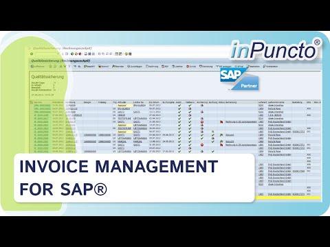 Invoice Management For Sap