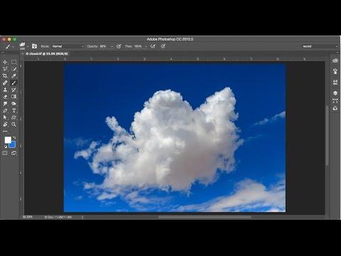 Create a Photoshop Cloud Brush