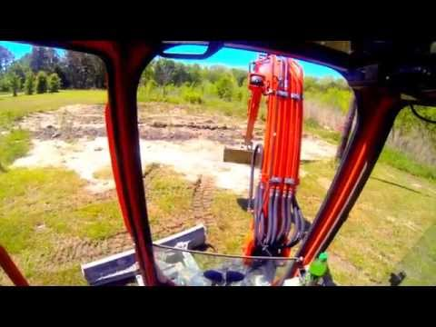 How to Operate Mini Excavator (Kubota KX121-3)