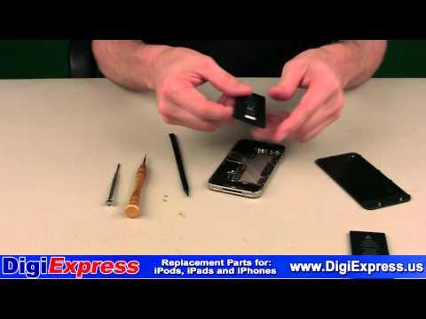 DigiExpress - iPhone 4 Battery Installation