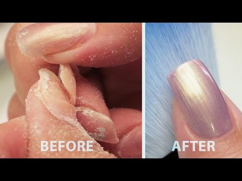 Repairing A Lifted Acrylic Nail - Step By Step Tutorial