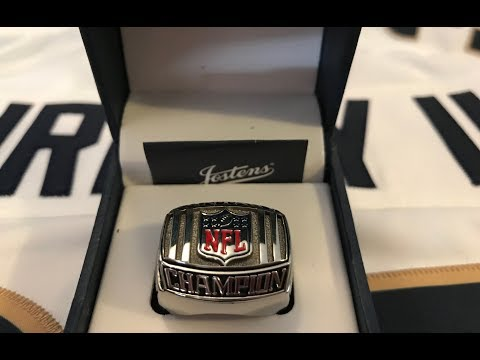 NFL Fantasy Football Prize League Ring Unboxing and Expectations After Winning
