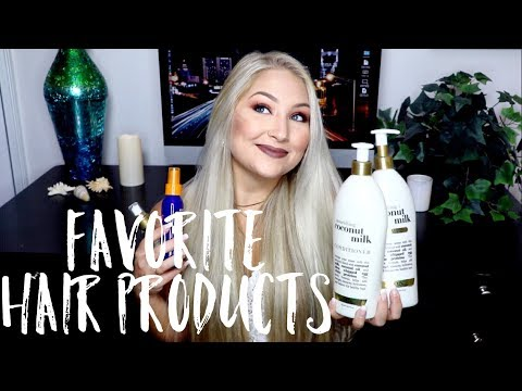Current Favorite Hair Products! | Shampoos, Conditioners, Detanglers, etc.