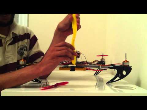 How To Install Clockwise CW and Counter Clockwise CCW Propellers on a Quadcopter