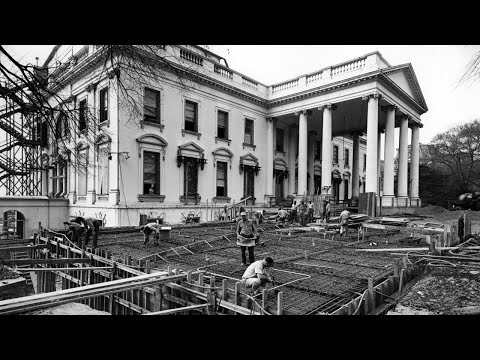 History of White House renovations