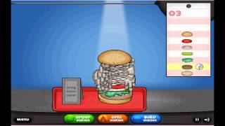 Burger Making Game Gameplay and Commentary