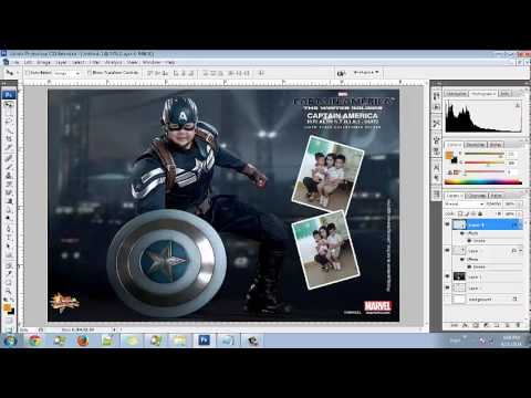 How To Make A Captain America 2 Birthday Invitation Card for kids