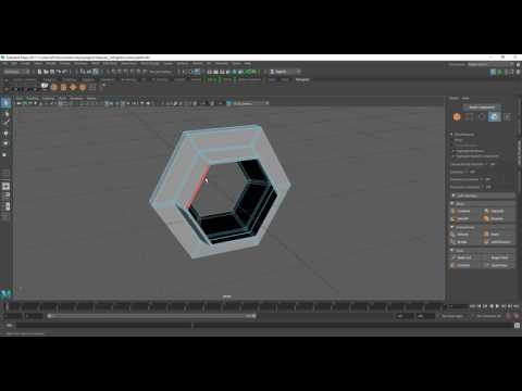Tie Fighter Modelling in Maya Part 8 [SPEED]