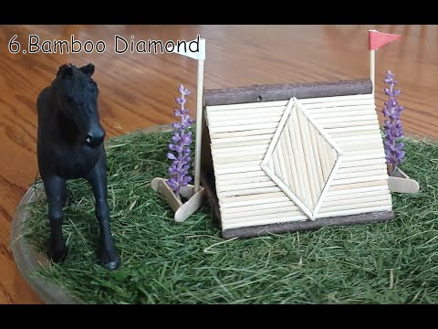 12 Awesome Schleich / Breyer Cross Country Jump Ideas!
