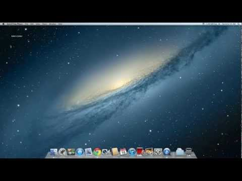 How to make an invisible folder on Mac OS X Lion for clean display [Tutorial]