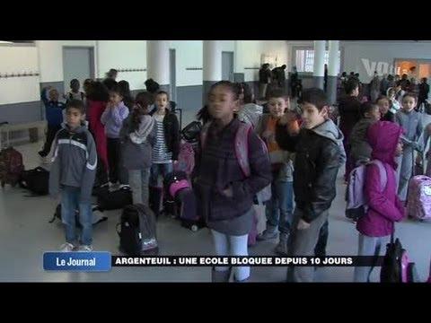 Une école bloquée depuis 10 jours à Argenteuil