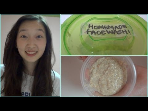 DIY: Easy Face Wash for Oily/Combination Skin