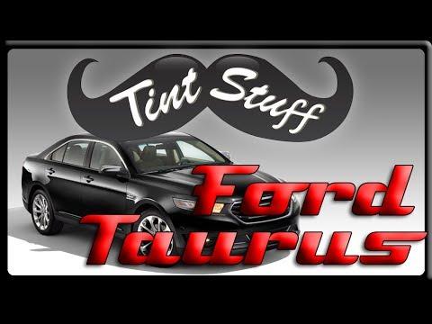 Window Tint Installation - 2012 Ford Taurus
