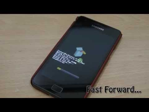 How to backup Samsung Galaxy S2 with ClockworkMod Recovery?