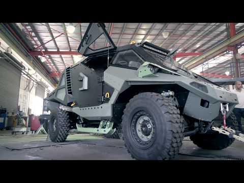 Mantis Armored Combat Vehicle