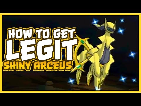 HOW TO GET A LEGAL SHINY ARCEUS IN SUN & MOON? NAH ITS ACTUALLY IN ORAS
