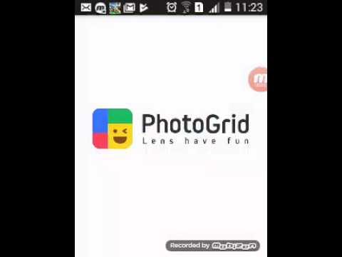 Como fazer video no photo grid atualizado