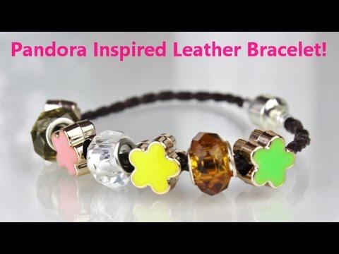 My DIY Leather Bracelet + Giveaway ♥