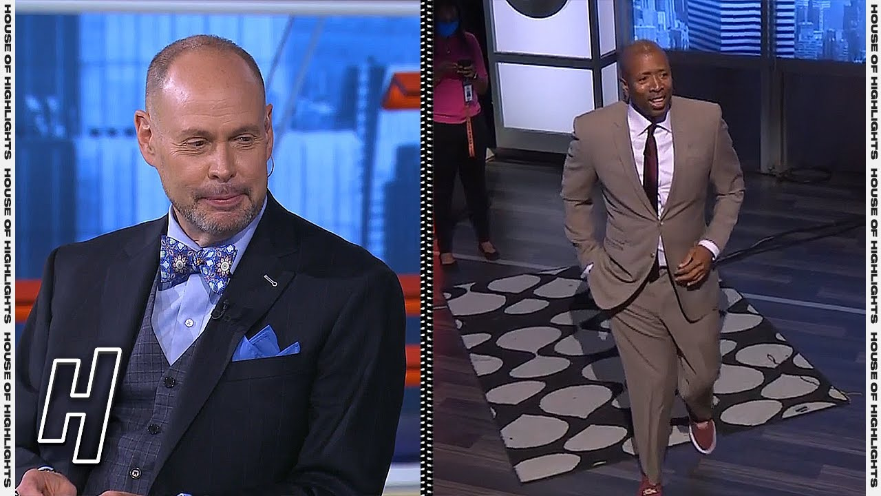 Kenny Arrives Late To the Show - Inside the NBA   June 5, 2021 NBA Playoffs