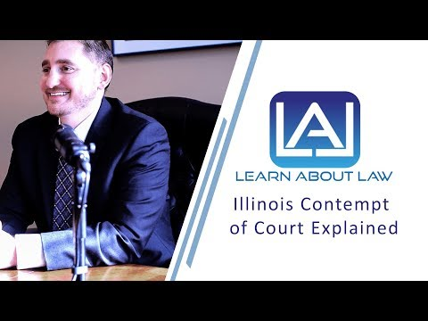 Illinois Contempt of Court Explained | Petitions for Rule To Show Cause