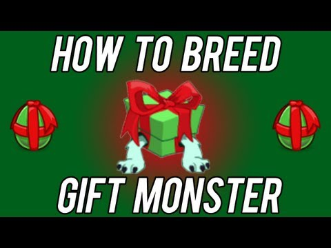 How to Breed Gift Monster COMBINATION Tiny Monsters