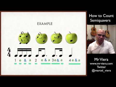 7. How to Count Semiquavers