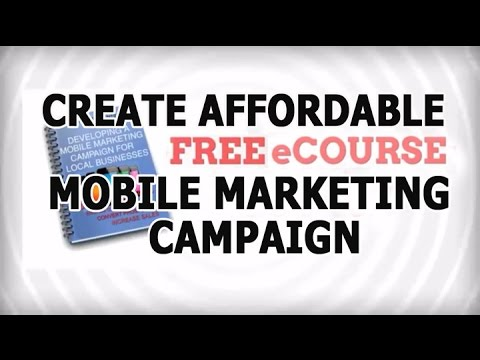 Develop Affordable Mobile marketing Campaign - eCourse