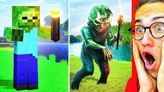 Impossible MINECRAFT VS. REAL LIFE CHALLENGE That Will Amaze You!