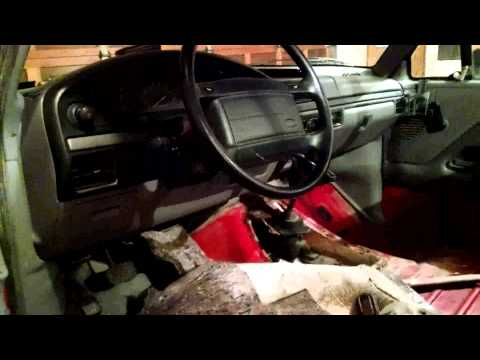 Changing a Clutch, 1995 Ford F-150 XL Part 1