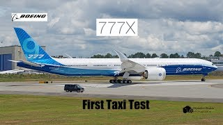 Hot Catch-boeing First New Airplane 777-9x N779xw First Taxi Tests @ Pae Before First Flight-20jun19