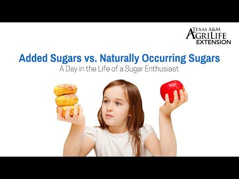 Added Sugars vs.  Naturally Occurring Sugars