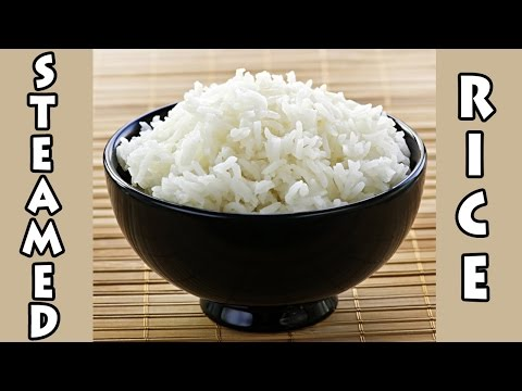 How To: Perfect Steamed White Rice NO RICE COOKER OR MEASURING CUP!