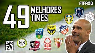 As 49 MELHORES HISTÓRIAS para você escolher o seu time no MODO CARREIRA | FIFA 20