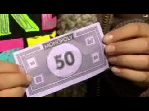 Kids pay to use school restroom with fake currency