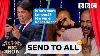 Send To All with Marvin and Rochelle Humes - Michael McIntyre