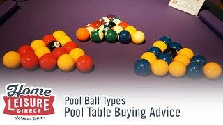 What are the Differences Between Certain Pool and Snooker Balls? - Pool Table Buying Advice