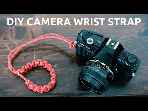 DIY Paracord Camera Wrist Strap. Extremely Easy and Strong.