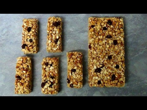 how to make peanut butter and honey granola bars