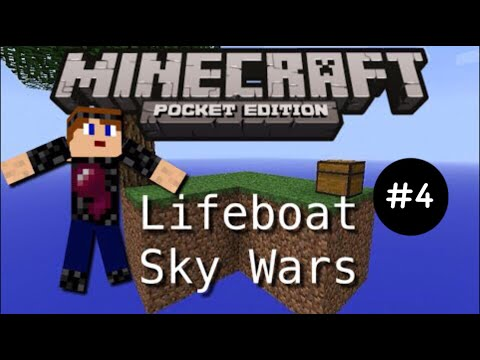 [0.11.1] Lifeboat Skywars #4 Snowballs are Life - Minecraft Pocket Edition