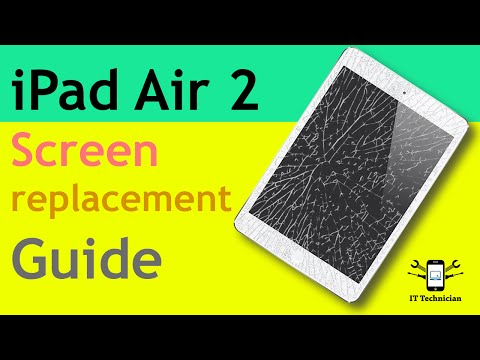 iPad Air 2 screen replacement