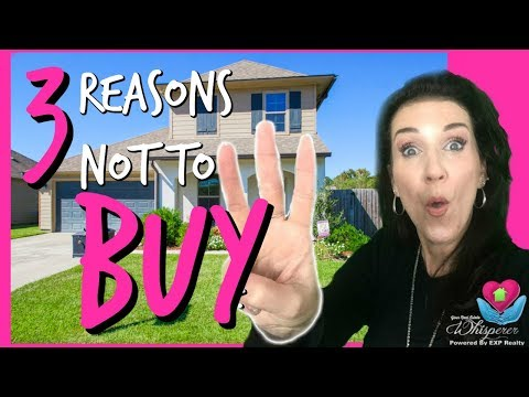 3 Reasons Why You Shouldn't Buy A Home ! - Take A Tip Tuesday
