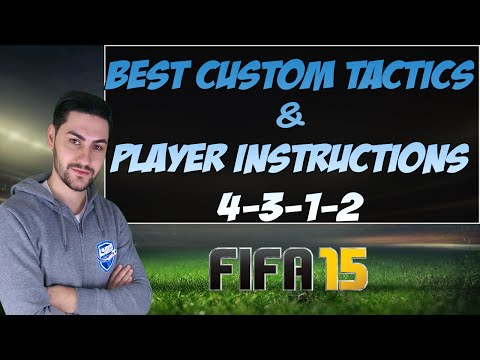 THE MOST OVERPOWERED FORMATION in FIFA 15 ULTIMATE TEAM (4312) / Best Custom Tactics