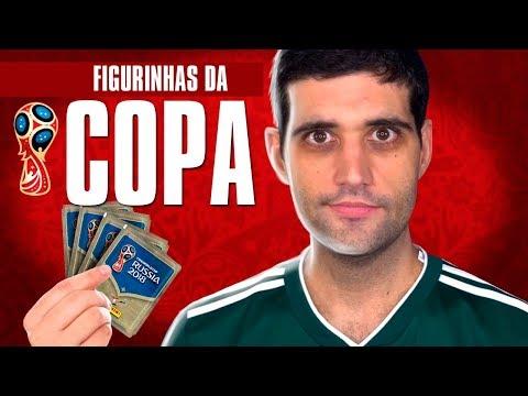 Álbum de figurinhas da COPA DO MUNDO, as maiores loucuras