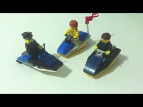 Como construir jet ski de Lego