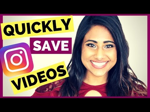 HOW TO SAVE INSTAGRAM VIDEOS & STORIES TO PHONE & CAMERA ROLL