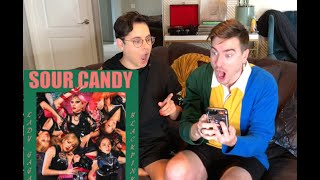 Lady Gaga, BLACKPINK - Sour Candy Reaction